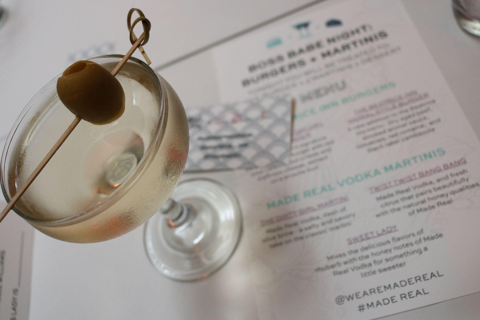 The Dirty Girl Martini