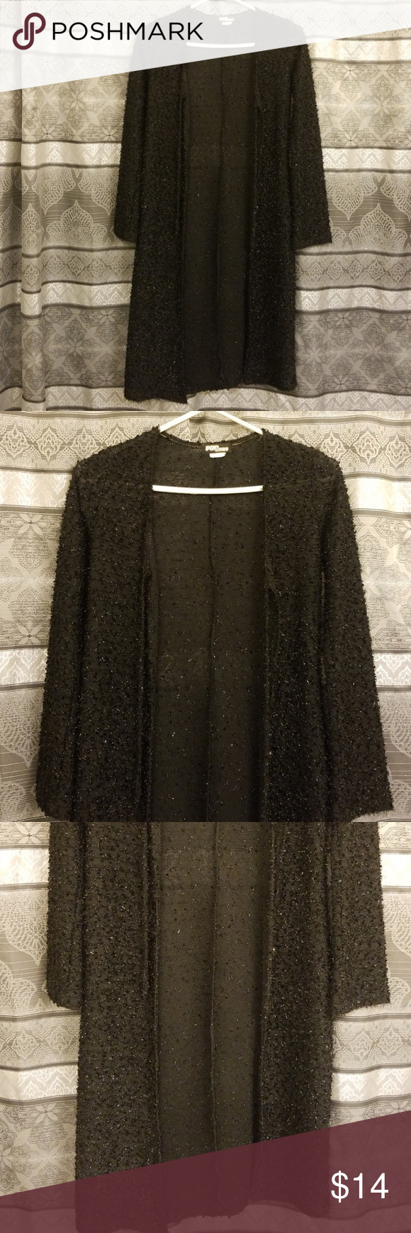 , Long Cardigan Size medium petite womens glittery long cover up..In excellent condition.. Pop Star Other, My Pop Star Kda Blog, My Pop Star Kda Blog