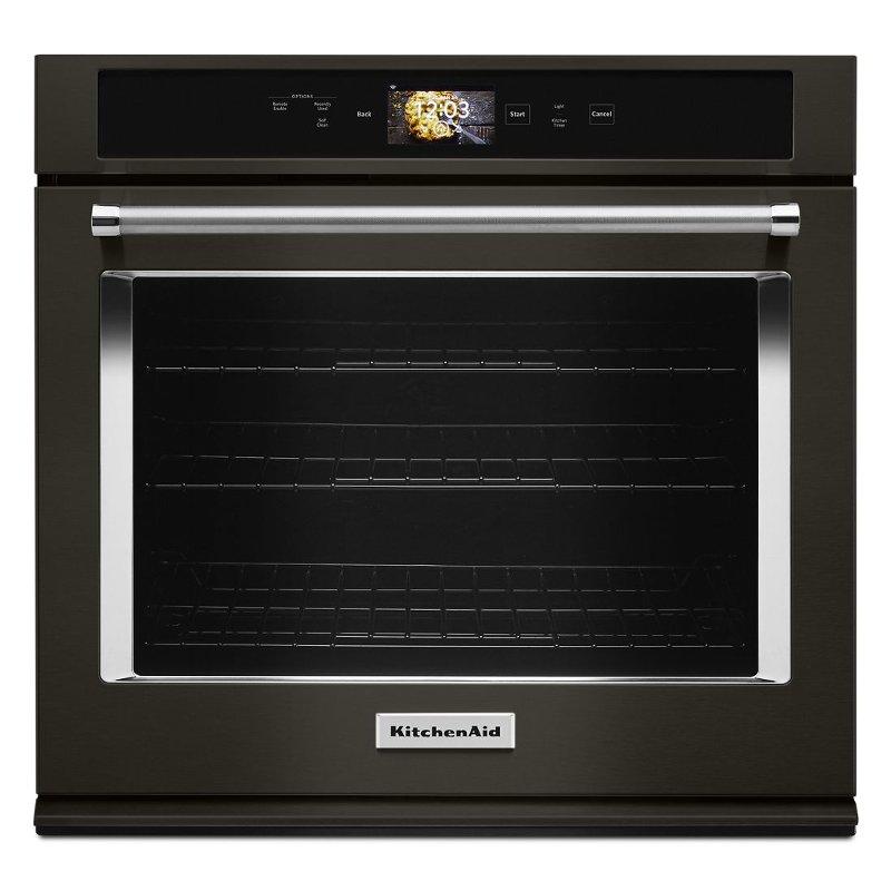 Kitchenaid 30 Inch Smart Oven Single Wall Oven 5 0 Cu Ft