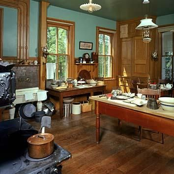 Pin By Craftsman Junky On Victorian Kitchen Homes Style
