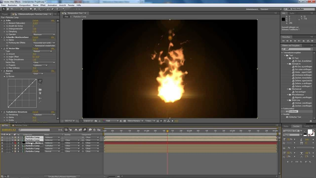 After Effects Tutorial: Particle Fire (No Stock Footage