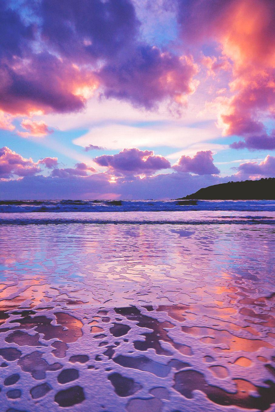 "lagunavibe "" Tidal sunset "" Photo paysage magnifique"