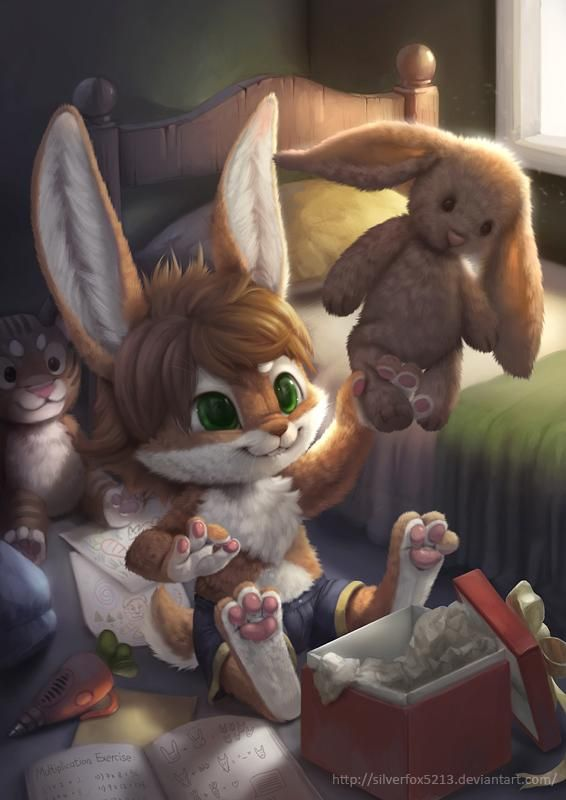 Photo of Commission for Flip Bunny by Silverfox5213 on DeviantArt