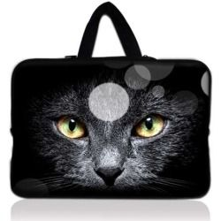"Cats Eye 17.1"" 17.3"" inch Laptop Bag Sleeve Case with Hidden Handle for Apple MacBook pro 17/Dell Inspiron 17R Alienware M17x/Samsung 700 Sony Vaio E 17/HP dv7"