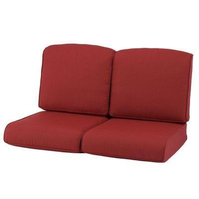 Martha Stewart Living Cedar Island Replacement Outdoor Loveseat Cushion JY4035 LV CR