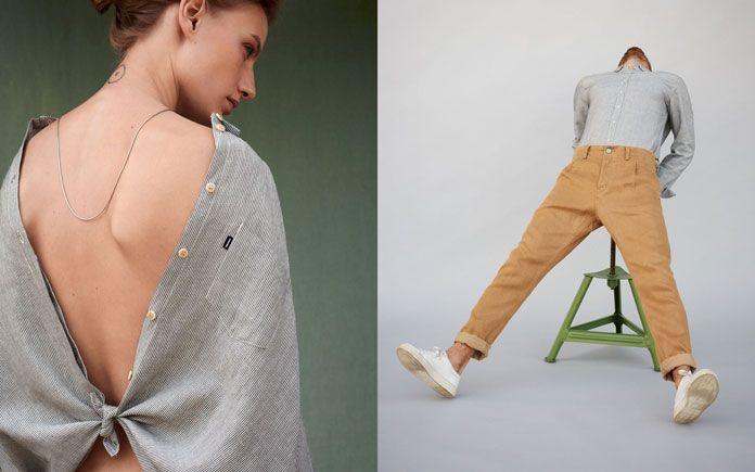 Fashion photography by Nadine Ottawa.