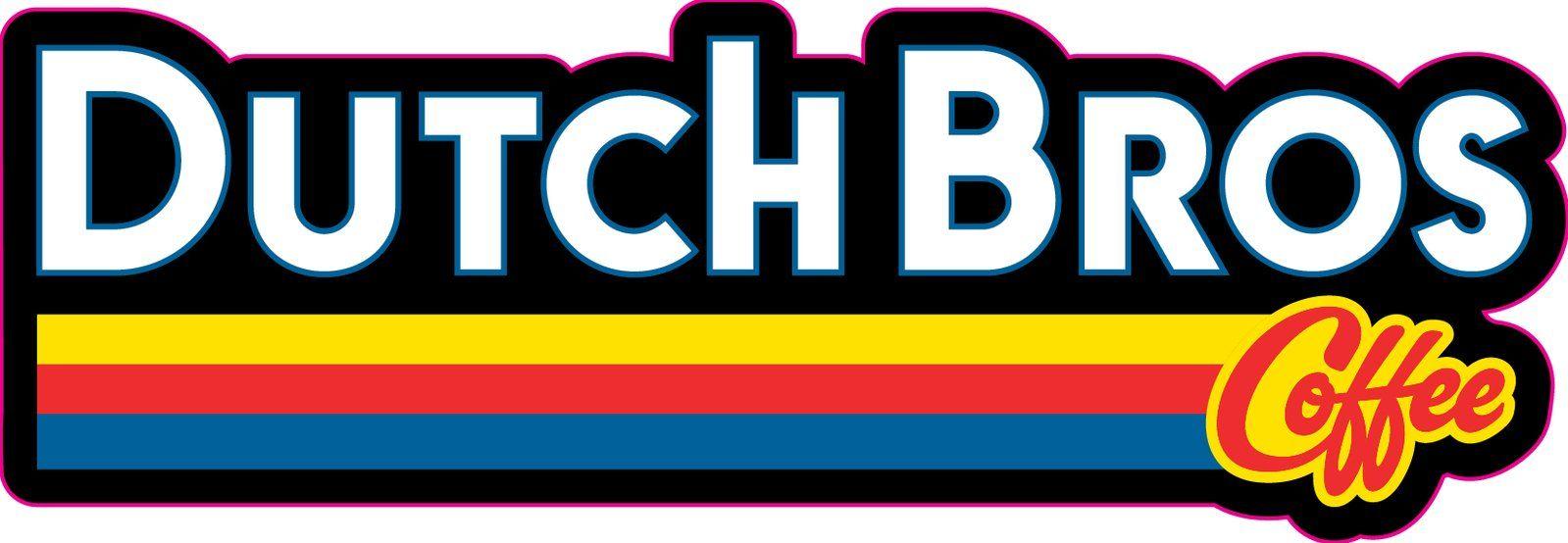 Dutch Bros Logo Sticker #dutchbros