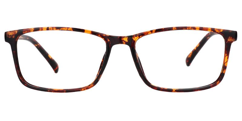 0c5940a0bfa Zeelool Eyeglasses Sheryl Rectangle Glasses Plastic Tortoise Frame 0287-01