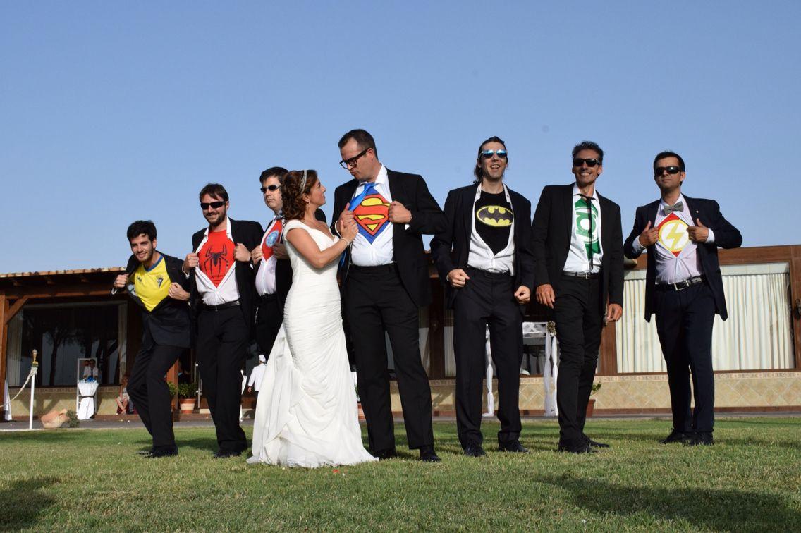 Superheroes wedding ideas