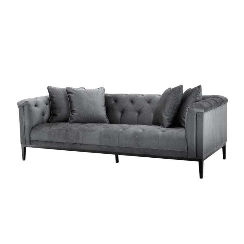 Eichholtz Cesare Sofa Granite Grey Modular Sofa Luxury Sofa Tufted Sofa