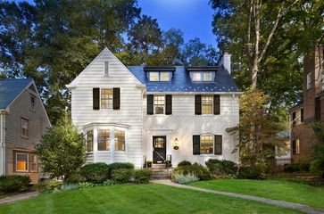 Chevy Chase Home Makeover Traditional Exterior Dc Metro Anthony Wilder Design Build Inc House Design Home Design Magazines House Exterior