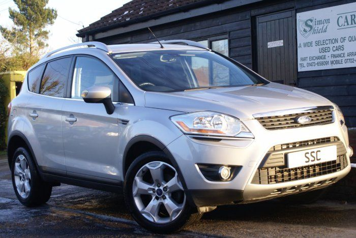 Ford Kuga 2 0 Tdci Titanium 5dr Estate Diesel Silver Metallic For