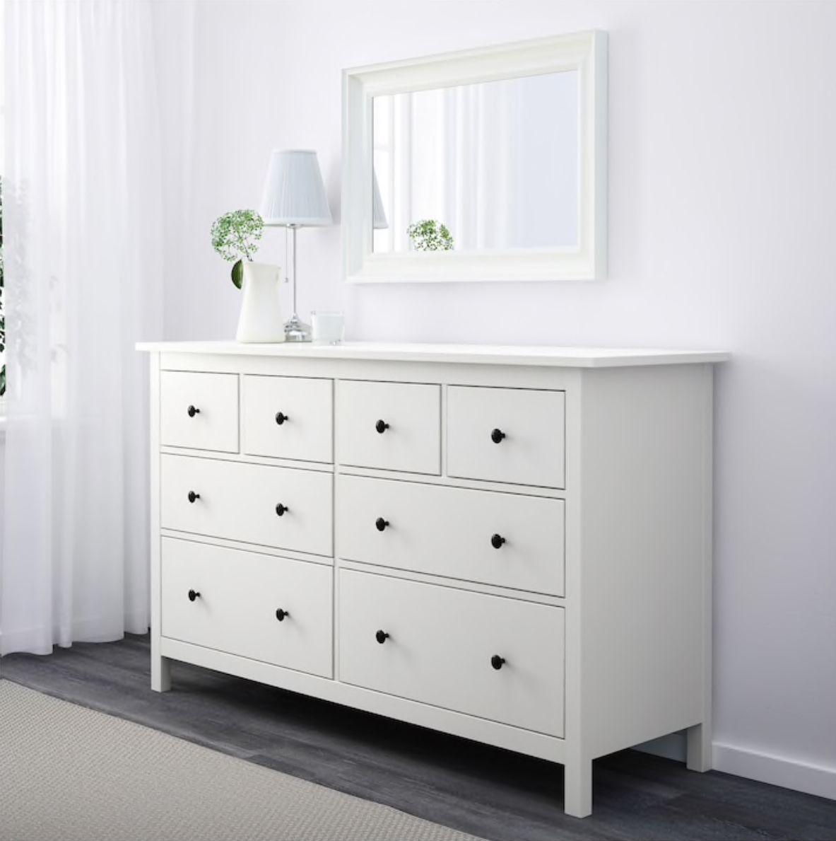 Best Hemnes 8 Drawer Dresser White In 2019 Bedroom Chest Of 400 x 300