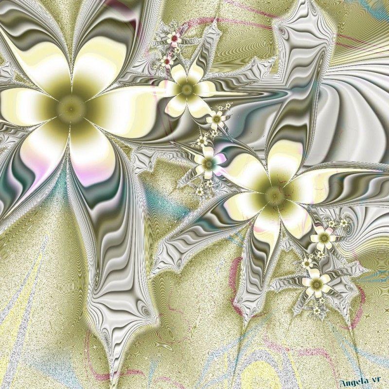 bloemen fractals | Angie-fractals.jouwweb.nl