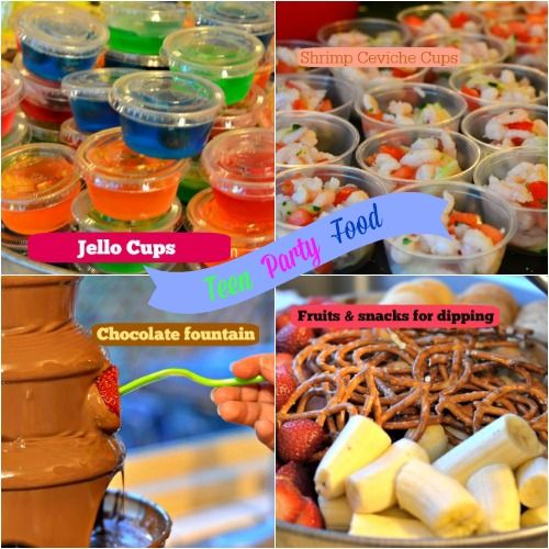 Teen Party And Graduation Food Fun Ideas