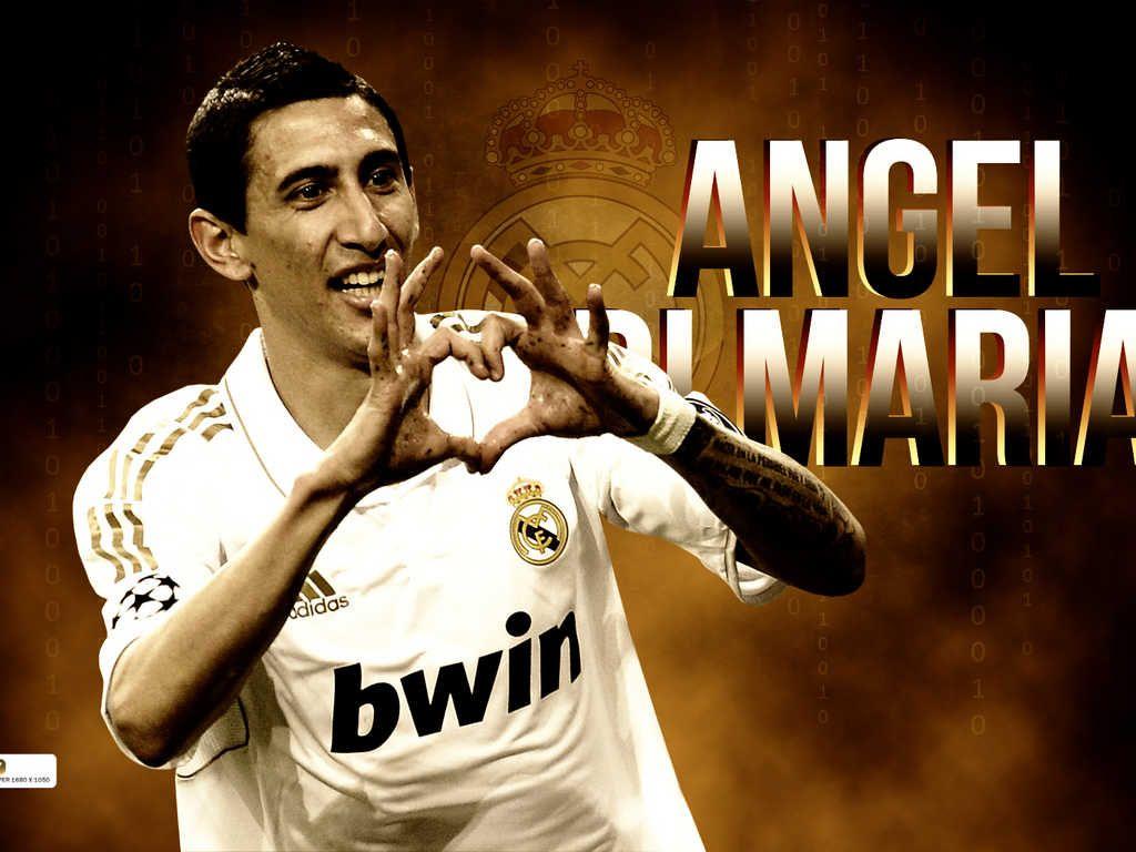 Fabian Dimaria Angel Di Maria Real Madrid Wallpapers Madrid Wallpaper Angel di maria wallpapers