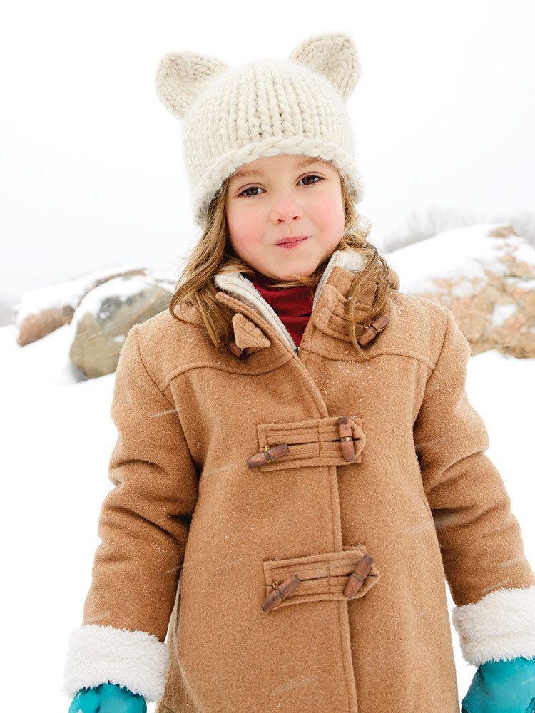 Bulky Knit Hats For Kids & Adults in Blue Sky Fibers Bulky ...