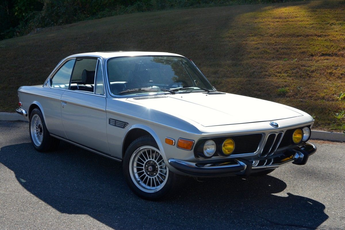 1974 bmw 3 0cs in polaris silver metallic hunting ridge motors bmw bmw e9 bmw cars pinterest