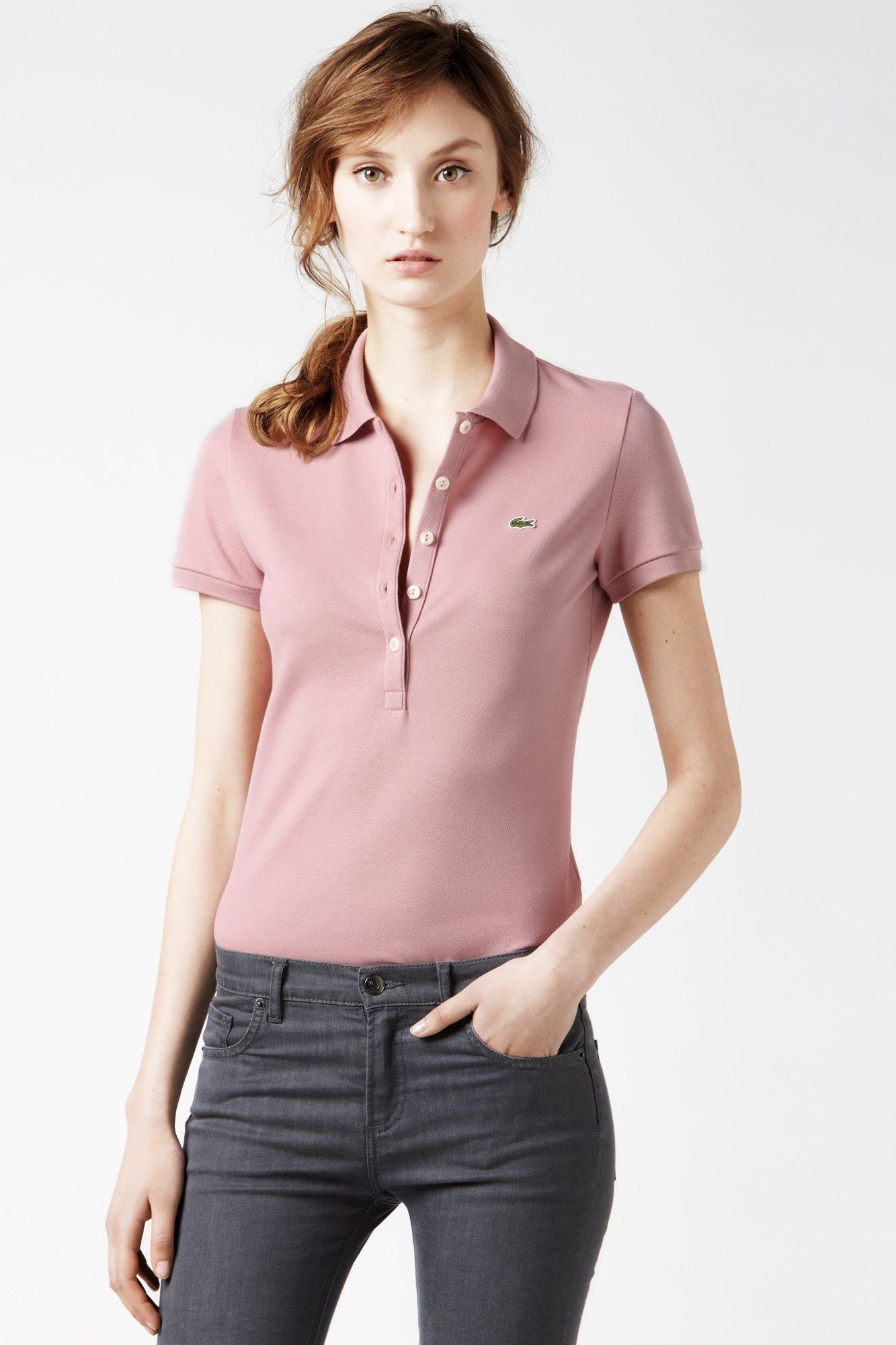 Pique Polo Fit Short Lacoste Sleeve Stretch Slim srdQxthC