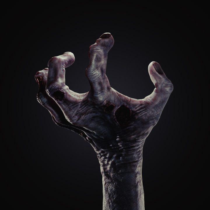 Zombie Hand Blender Cookie Zombie Hand Zombie Dark Photography