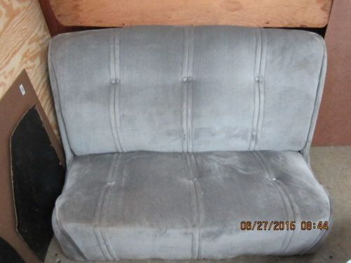1936 chevrolet 5 window master coupe original seat( from