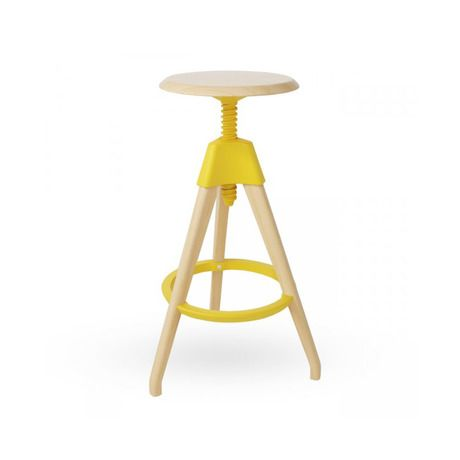 Yellow Pop Color Stool
