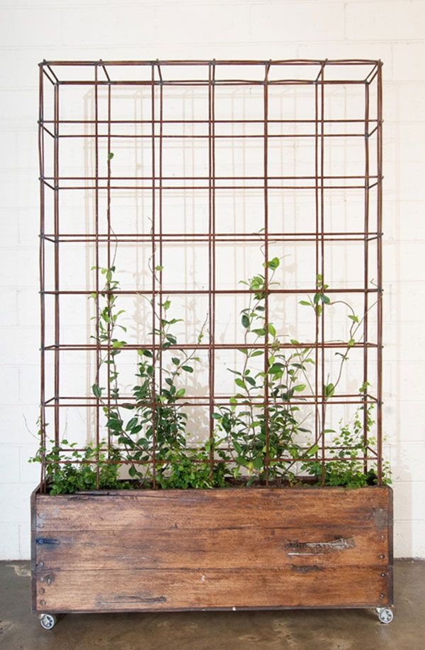 Planters / Custom Wood Steel Planters - Bangs Boutique