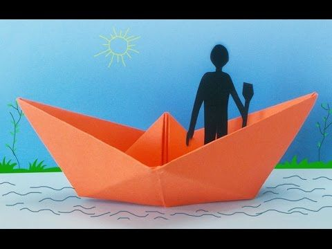 Fun Activities For Kids How To Make A Paper Boat