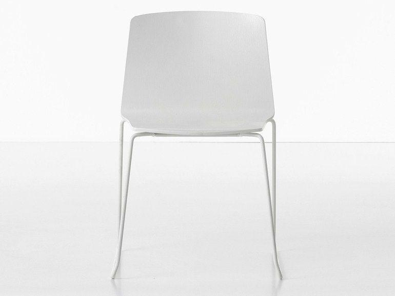 Kristalia Sedie ~ Sled base chair rama sled base chair by kristalia lifestyle