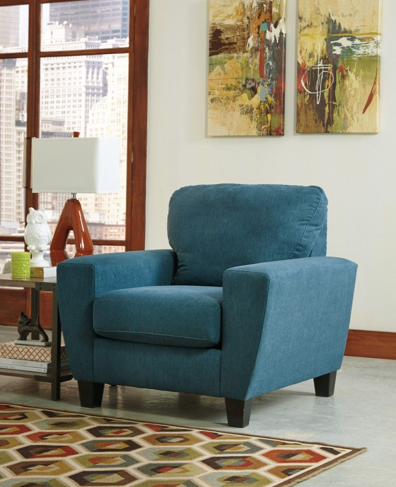 Sagen   Teal   Chair By Signature Design By Ashley. Get Your Sagen   Teal    Chair At Furniture Country, Gainesville FL Furniture Store.