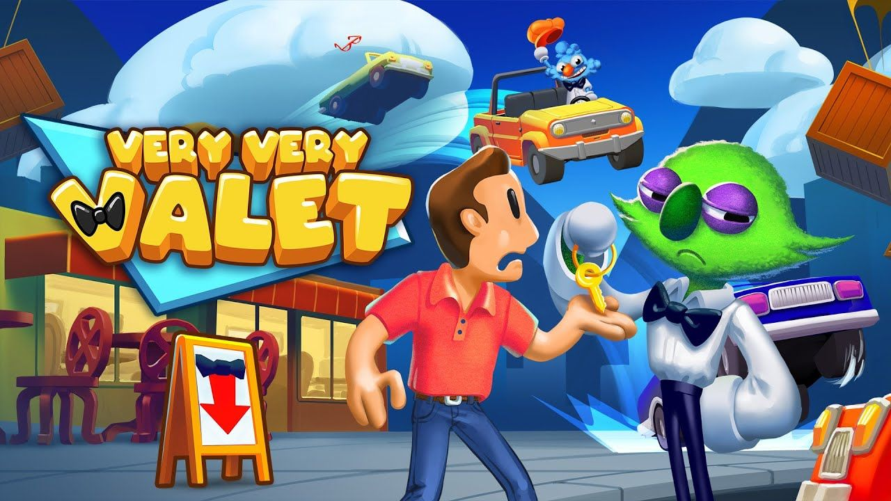 Very Very Valet Announcement Trailer W Gameplay Nintendo Switch Nintendo Switch Nintendo Game Trailers