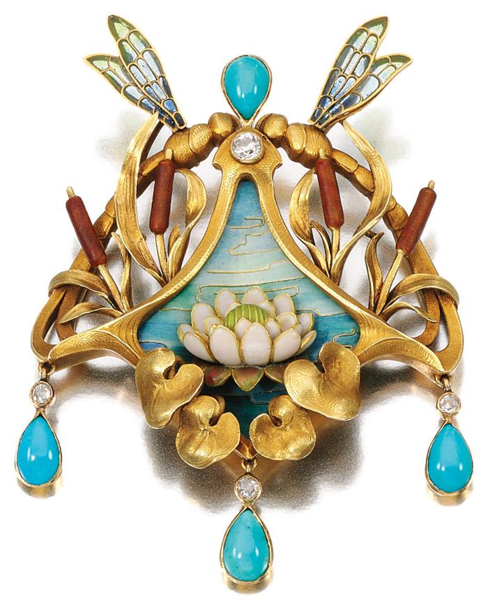 REVISIÓN SUBASTA: la colección de joyería única de la tarde Wellby Michael