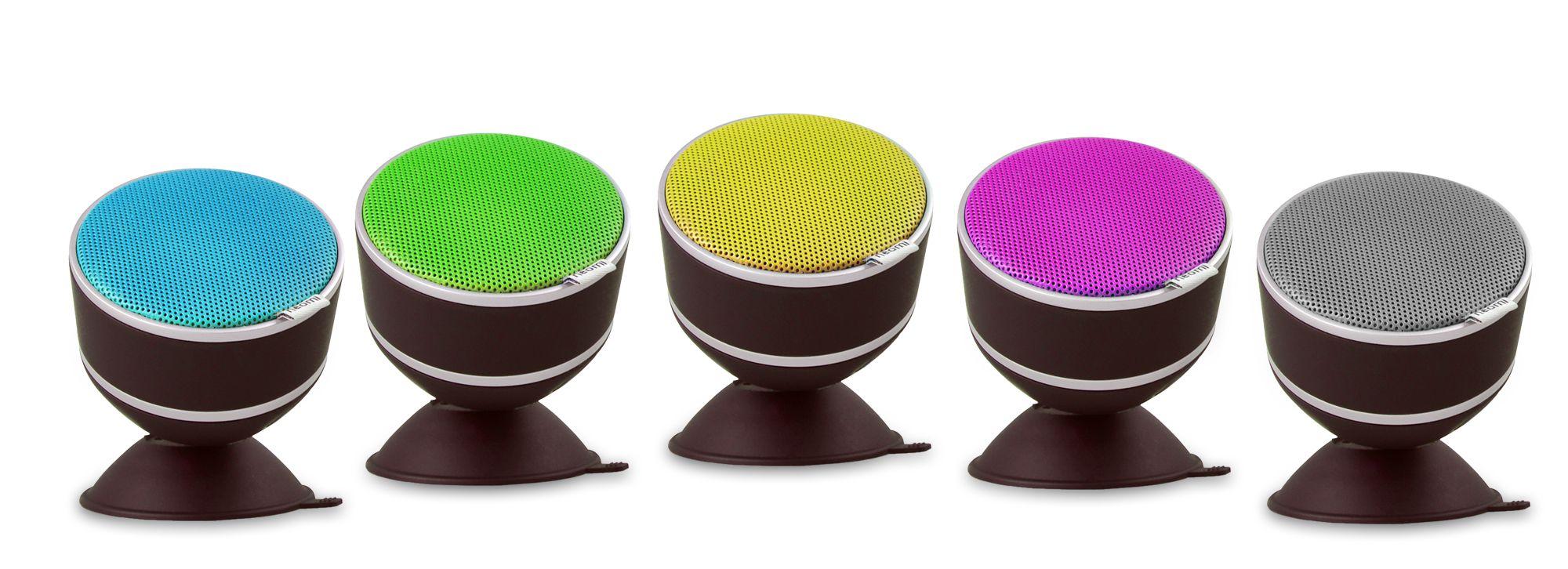 Musica e colore con Neomi di Audioclub, uno speaker bluetooth piccolo...e impermeabile