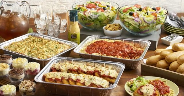 Olive Garden Catering Is Available For Pickup Or Delivery