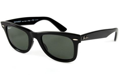 a0f66ccc11 Ray-Ban 2140 Wayfarer Polarized Sunglasses Made in Italy, the home of  fashion,