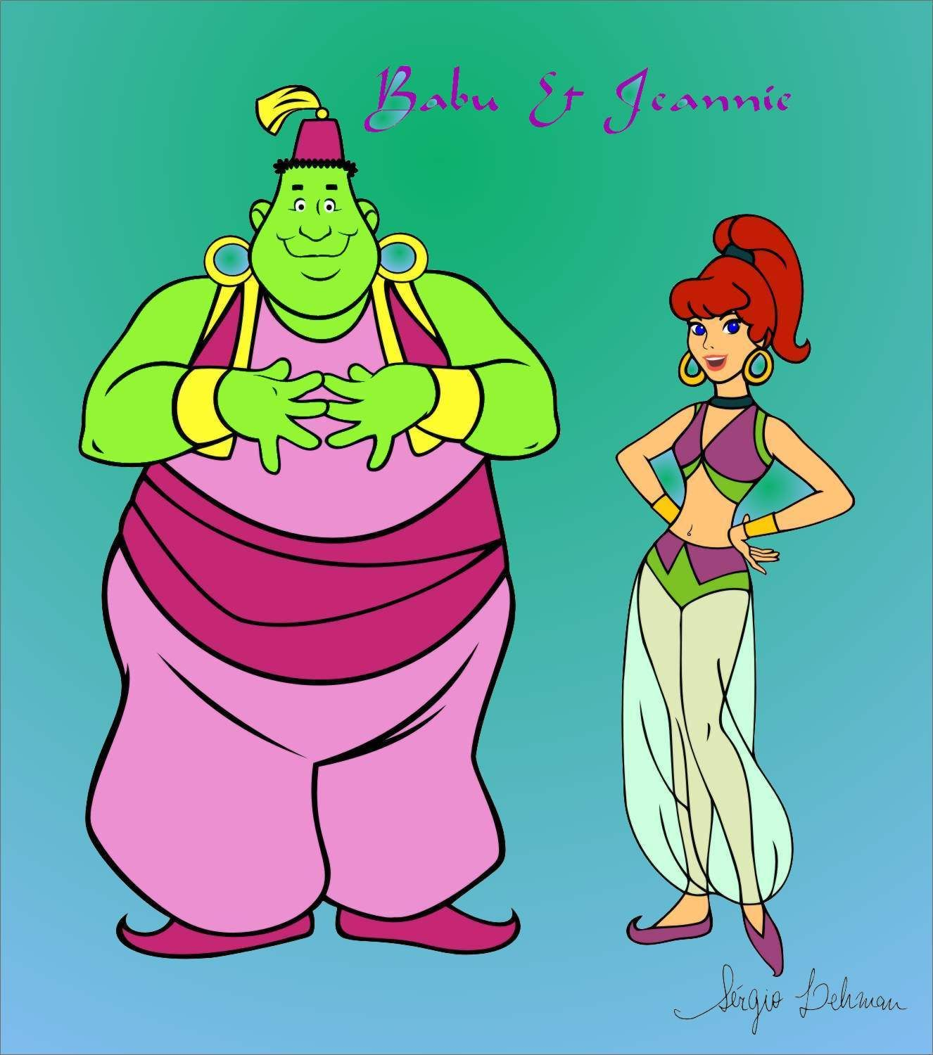 Jeannie and Babu Hanna-Barbera | Classic Cartoons in 2019