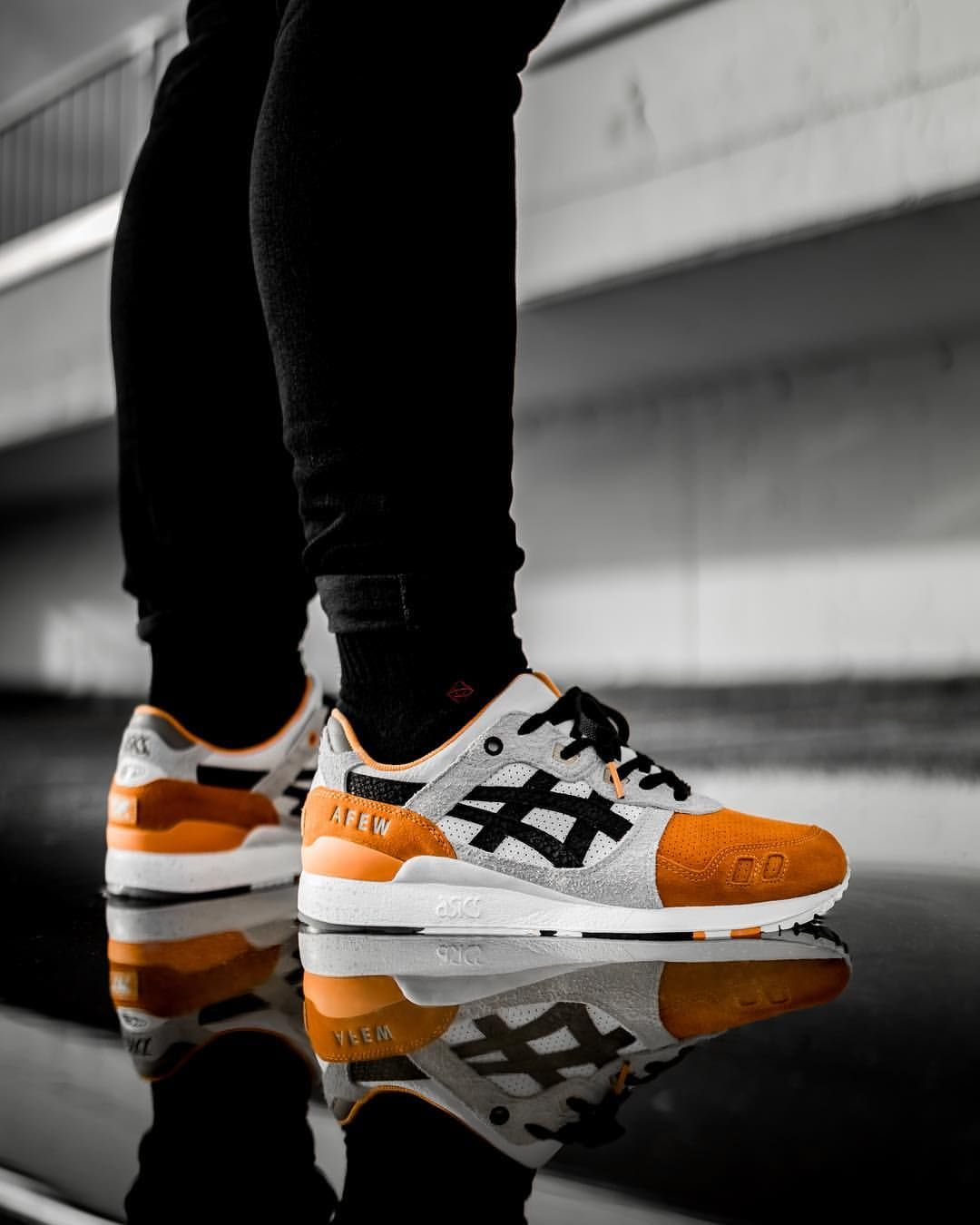 "29da71a261a0 Beams x Afew x Asics Gel Lyte III ""Orange Koi"""