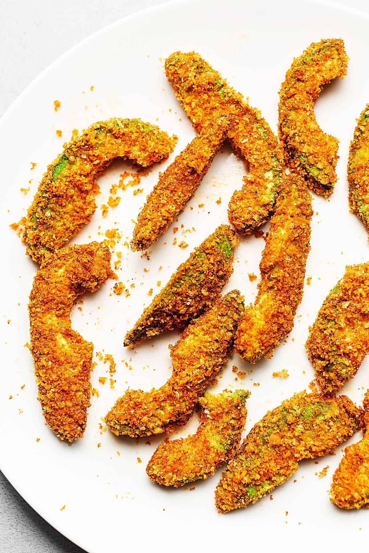 Air Fryer Avocado Fries Keto and Paleo • Low Carb with