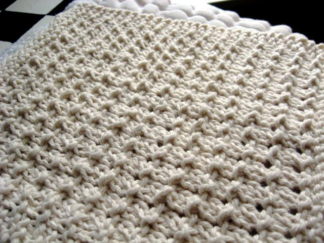 Pebble Cloth Knit Pattern Cotton Spa Or Dish Cloth From Little