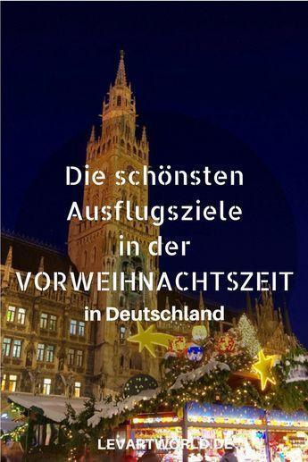 Deutschland Weihnachtsmarkt.5 Ausflugsziele In Der Vorweihnachtszeit In Deutschland