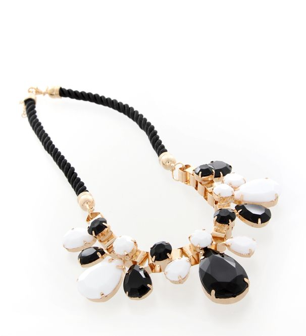 Inspired by Egyptian queen Cleopatra, this white, gold and black piece will set your outfit apart.