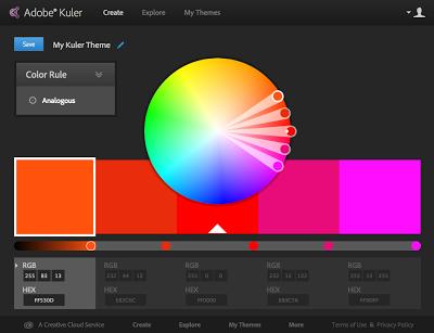 Adobe Kuler Color Palette Generator