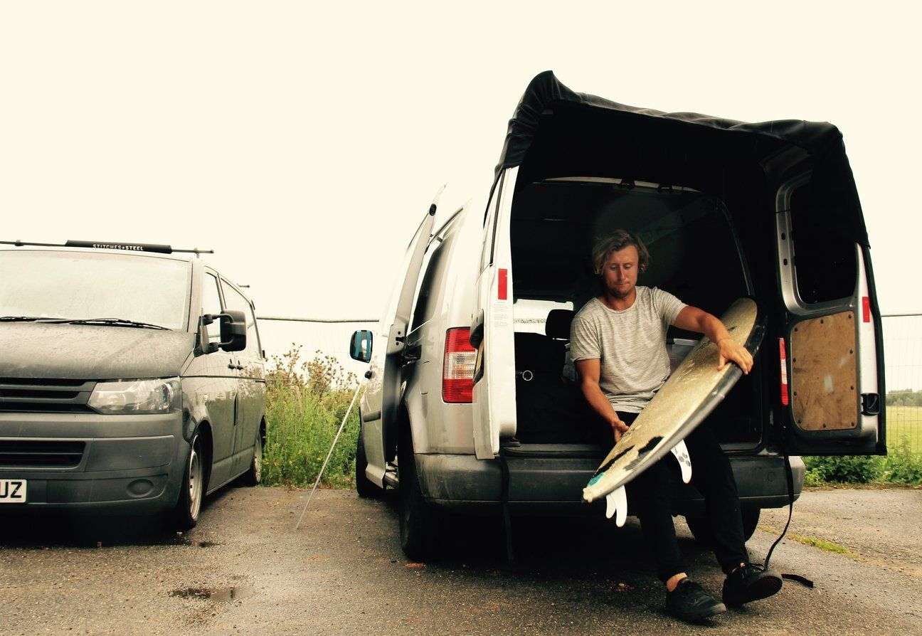 The Barn Door Awning An Innovative And Simple Little Accessory At Home In Any Van With Two Doors At The Back Giv In 2020 Door Awnings Volkswagen Transporter Volkswagen