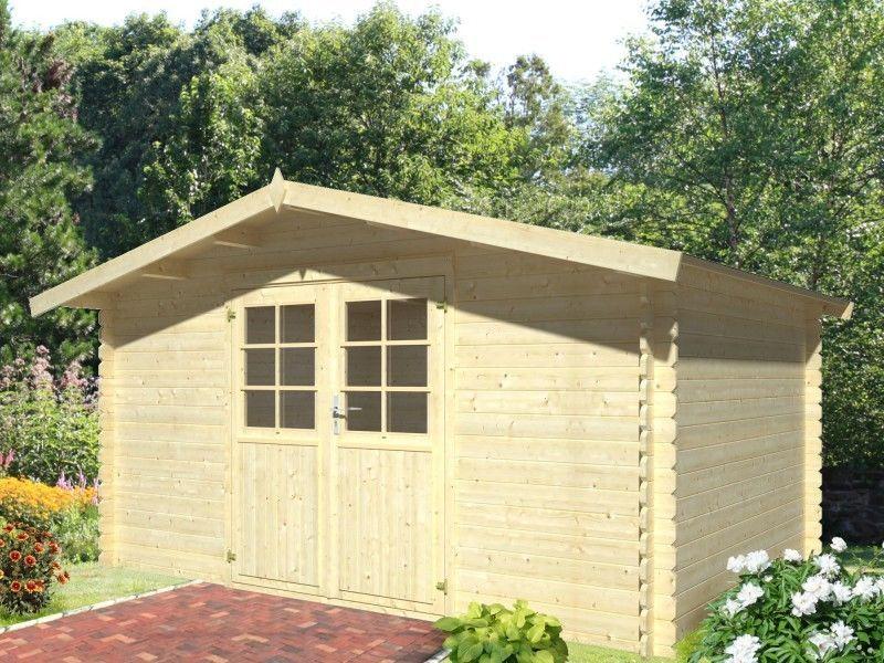 Geratehaus 28mm Potsdam 3 4x3m Gartenhauser Gartenhutte Holz