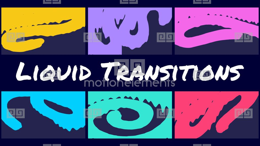 Liquid Transitions, Price: $18 00, Category: After Effects templates