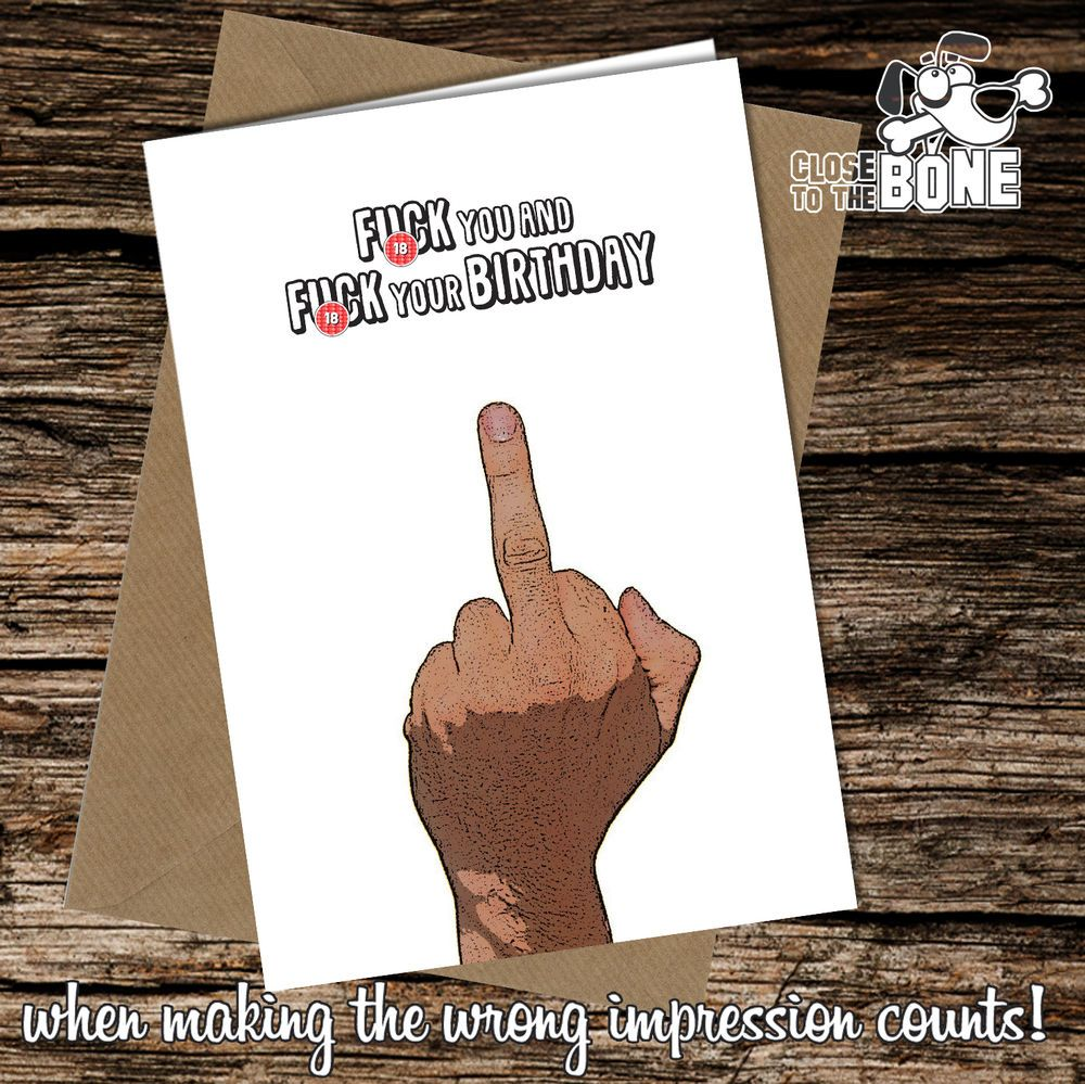 216 fck you rude birthday greetings card funny humour offensive 216 fck you rude birthday greetings card funny humour offensive cheeky joke kristyandbryce Image collections