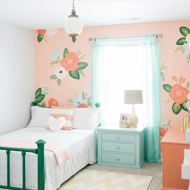 12 Perfect And Calming Bedroom Ideas For Women: 12+ Girls Bedroom Ideas For Small Rooms, Girl Bedroom