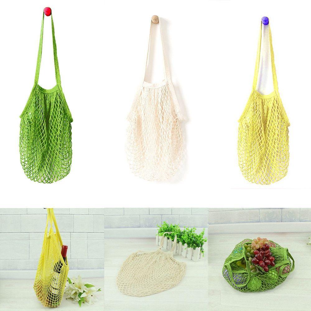 Mesh Net Turtle Bag String Shopping Bag Reusable Fruit Vegetable Storage Handbag
