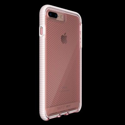 competitive price 352ac f97f9 Tech21 iPhone 8 Plus/7 Plus Case EVO Check - Rose/White, Pink in ...