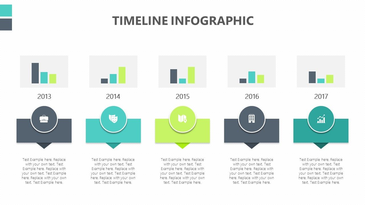Timeline Infographic for PowerPoint Timeline infographic